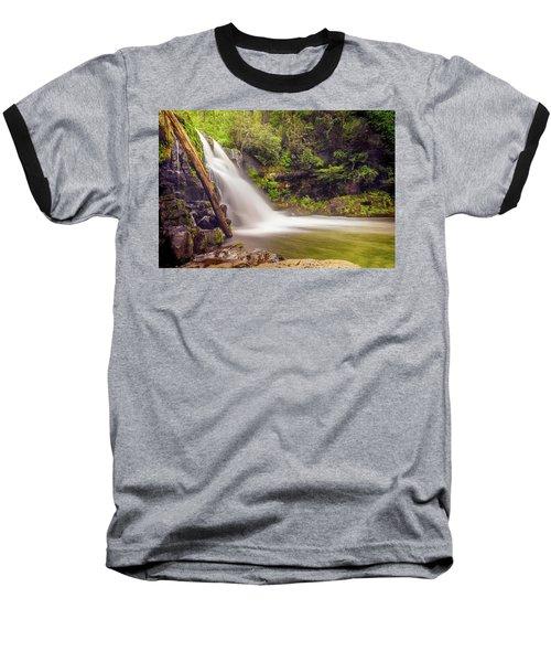 Abrams Falls Baseball T-Shirt by David Cote