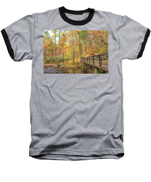 Abrams Falls Trailhead Baseball T-Shirt