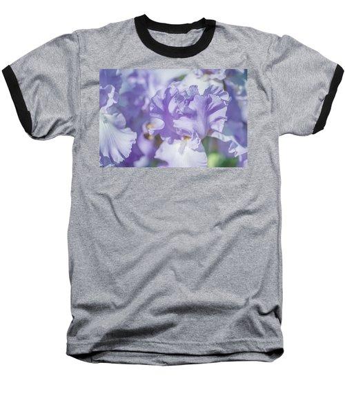 Absolute Treasure Closeup. The Beauty Of Irises Baseball T-Shirt