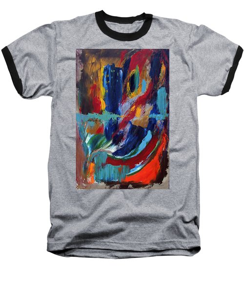 Abstract 1 Baseball T-Shirt