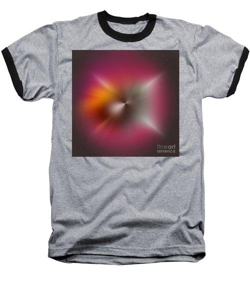 Abstract 1010-2016 Baseball T-Shirt by John Krakora