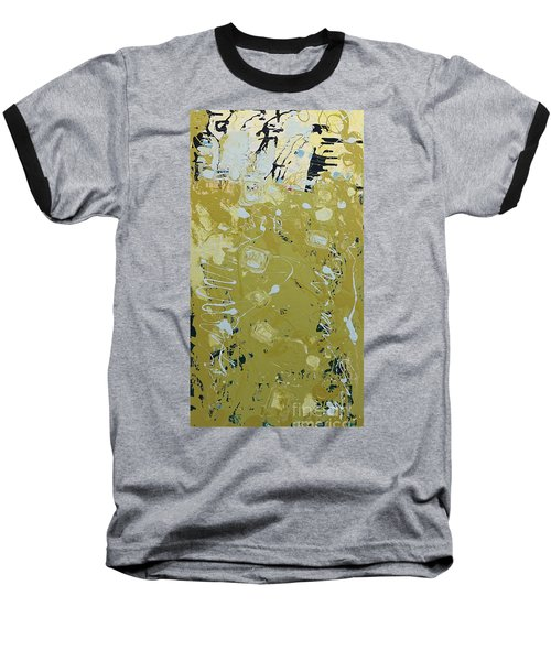 Abstract 1014 Baseball T-Shirt by Gallery Messina