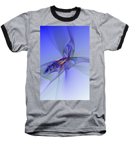 Abstract 110210 Baseball T-Shirt by David Lane