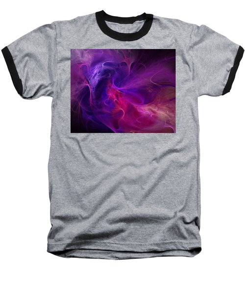 Abstract 111310b Baseball T-Shirt by David Lane