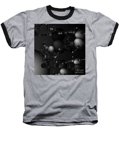 Abstract 119 Bw Baseball T-Shirt