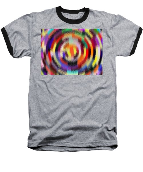 Abstract 120116 Baseball T-Shirt by Maciek Froncisz