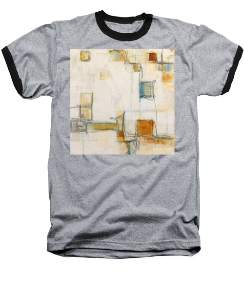 Abstract 1207 Baseball T-Shirt by Gallery Messina