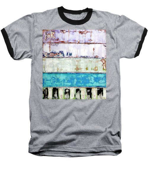 Art Print Abstract 31 Baseball T-Shirt