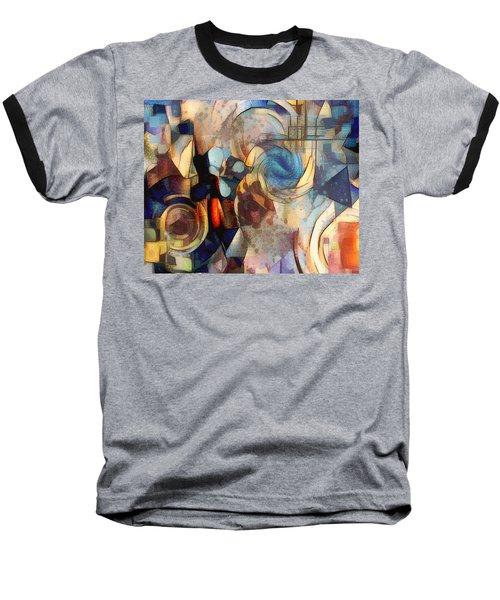 Abstract 32 Baseball T-Shirt