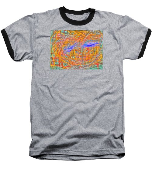 Abstract 401 Baseball T-Shirt