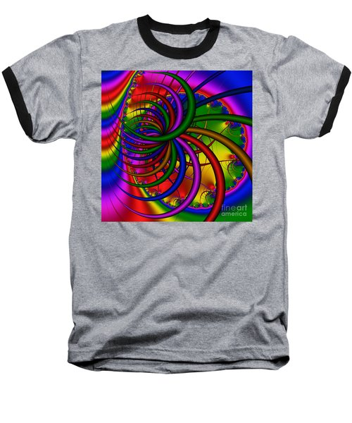 Abstract 523 Baseball T-Shirt