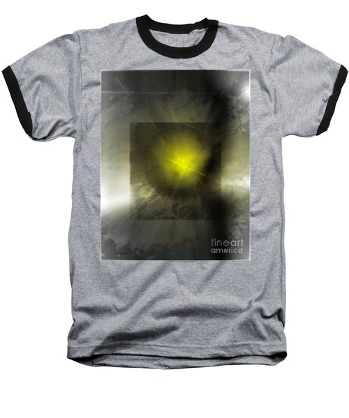 Abstract 533-2016 Baseball T-Shirt by John Krakora