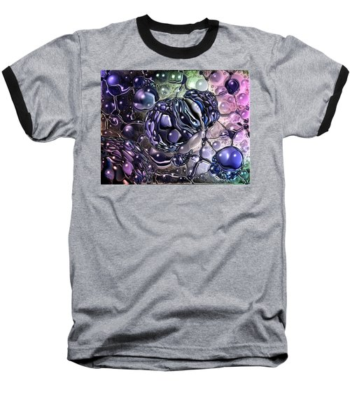 Cancer Killing Microbe Baseball T-Shirt