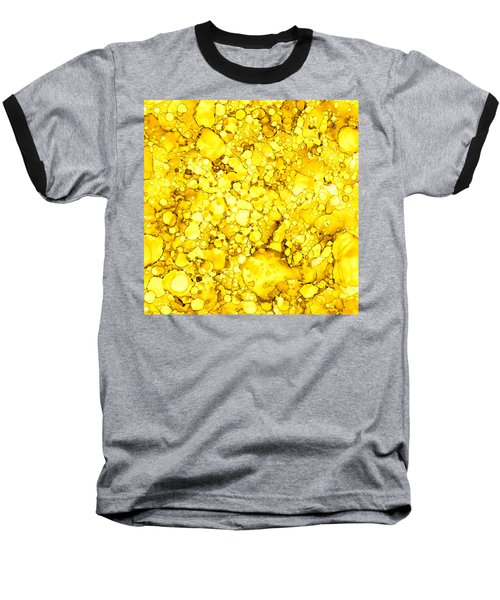 Baseball T-Shirt featuring the painting Abstract 7 by Patricia Lintner