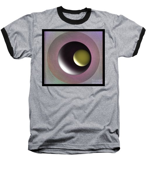 Abstract 702-2015 Baseball T-Shirt by John Krakora