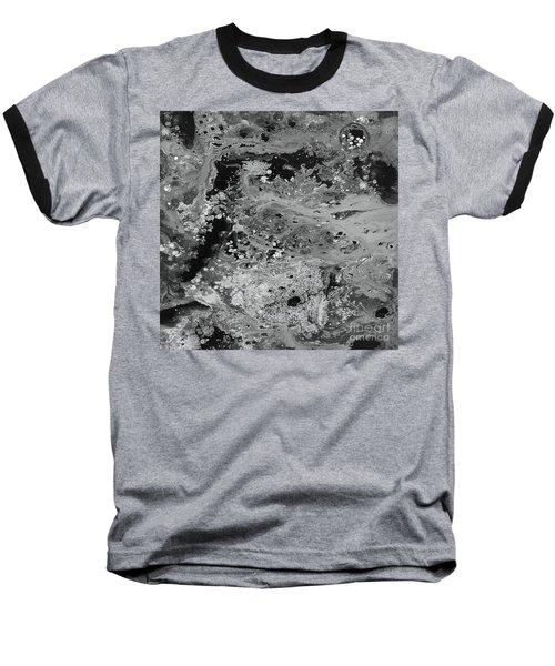 Abstract Acrylic Painting The Night Baseball T-Shirt