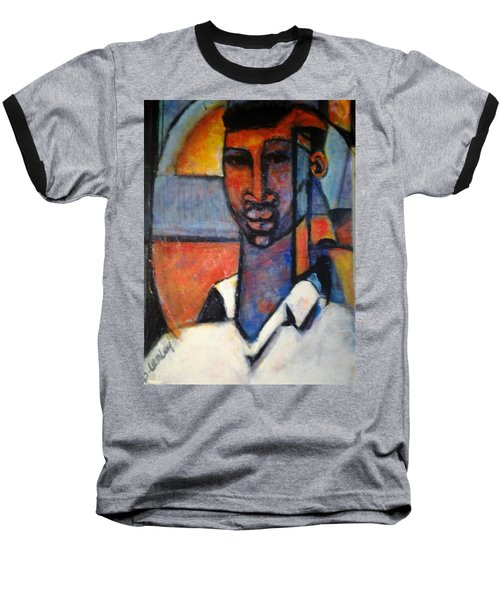 Abstract African Baseball T-Shirt