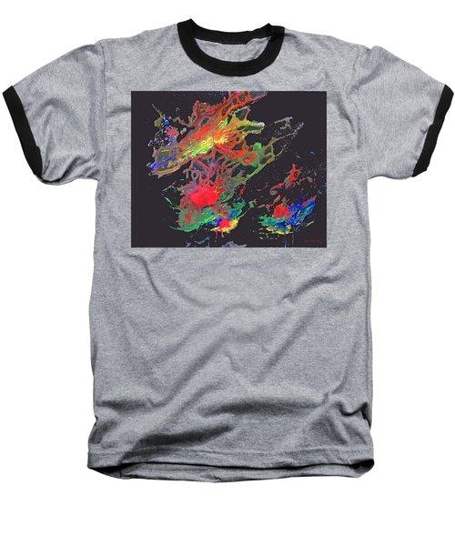 Abstract Andromeda Baseball T-Shirt