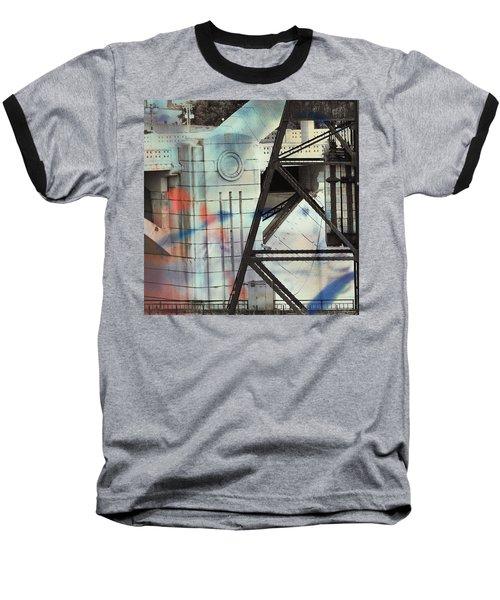 Abstract Architecture Baseball T-Shirt