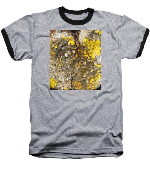 Abstract Art Seen In Parking Lot Baseball T-Shirt by Sandra Church