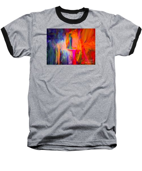 Abstract Art  Waiting Baseball T-Shirt