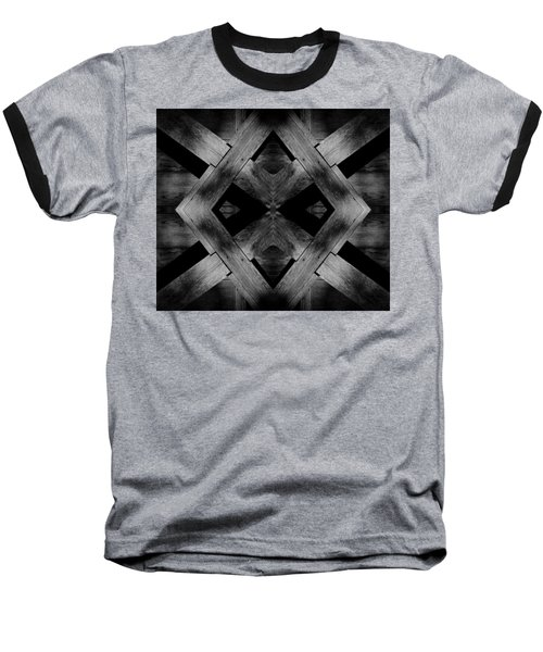Baseball T-Shirt featuring the photograph Abstract Barn Wood by Chris Berry