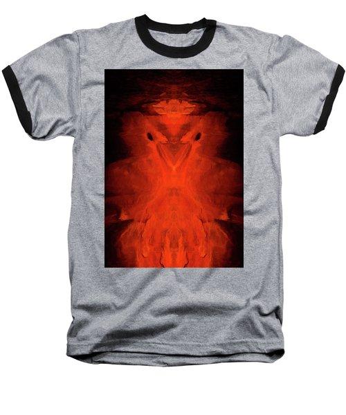 Abstract Bird 01 Baseball T-Shirt by Scott McAllister