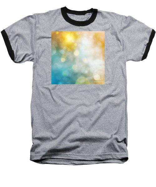 Abstract Bokeh Baseball T-Shirt by Atiketta Sangasaeng
