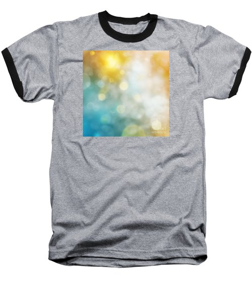 Abstract Bokeh Baseball T-Shirt