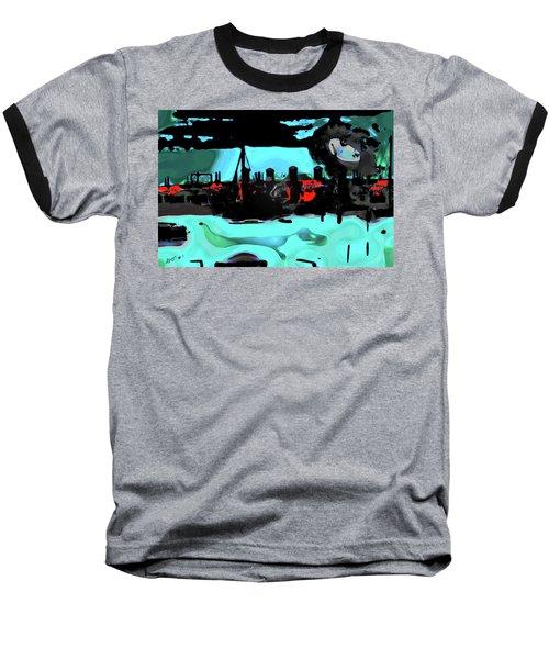 Abstract Bridge Of Lions Baseball T-Shirt