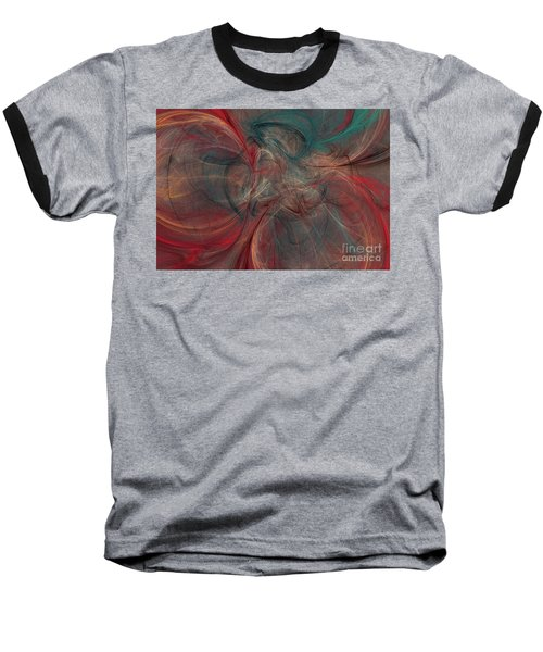 Abstract Chaotica 10 Baseball T-Shirt