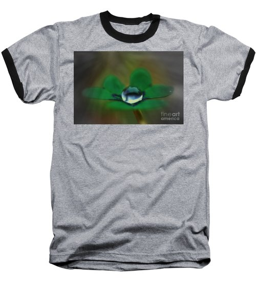 Abstract Clover Baseball T-Shirt