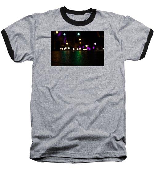 Abstract Color Baseball T-Shirt