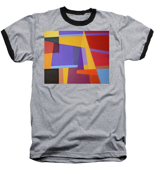 Abstract Composition 7 Baseball T-Shirt