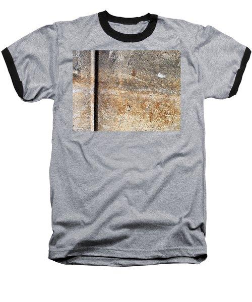 Abstract Concrete 17 Baseball T-Shirt