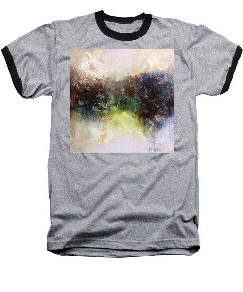 Abstract Contemporary Art Baseball T-Shirt by Patricia Lintner
