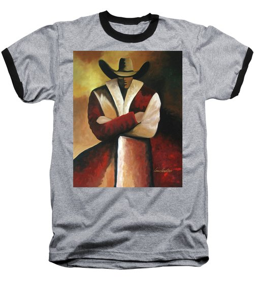 Abstract Cowboy Baseball T-Shirt