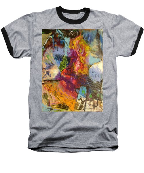 Abstract Depths Baseball T-Shirt
