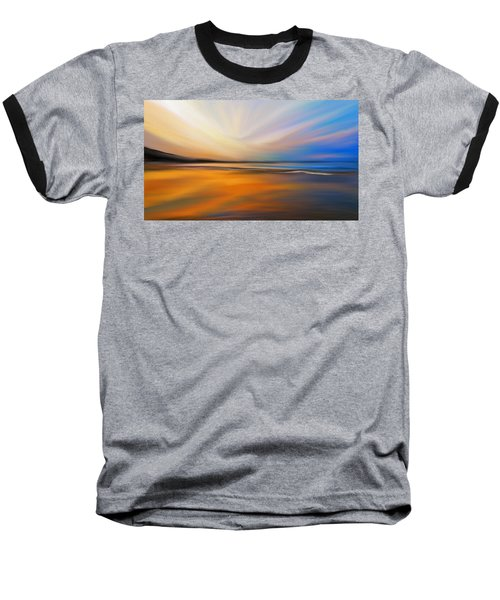 Abstract Energy Baseball T-Shirt by Anthony Fishburne