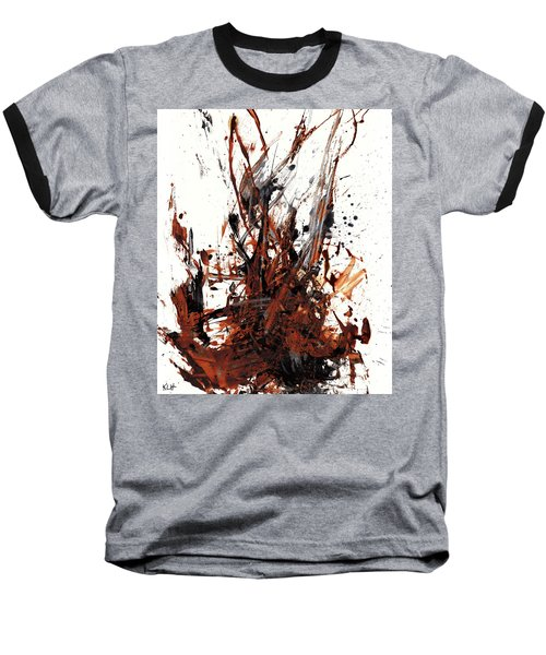 Abstract Expressionism Painting 50.072110 Baseball T-Shirt by Kris Haas
