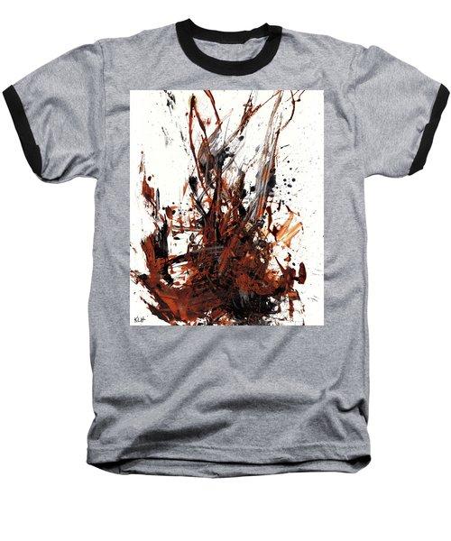 Abstract Expressionism Painting 50.072110 Baseball T-Shirt
