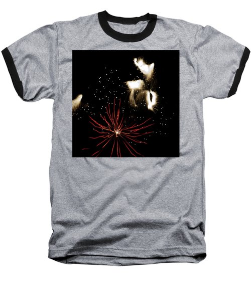 Abstract Fireworks IIi Baseball T-Shirt