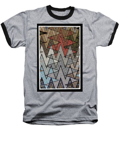 Abstract Floor  Baseball T-Shirt