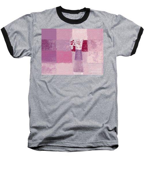 Abstract Floral - 11v3t09 Baseball T-Shirt