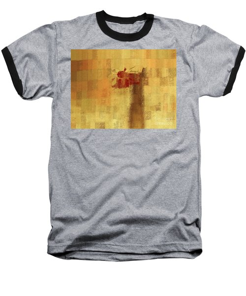 Abstract Floral - 14v2ft Baseball T-Shirt by Variance Collections