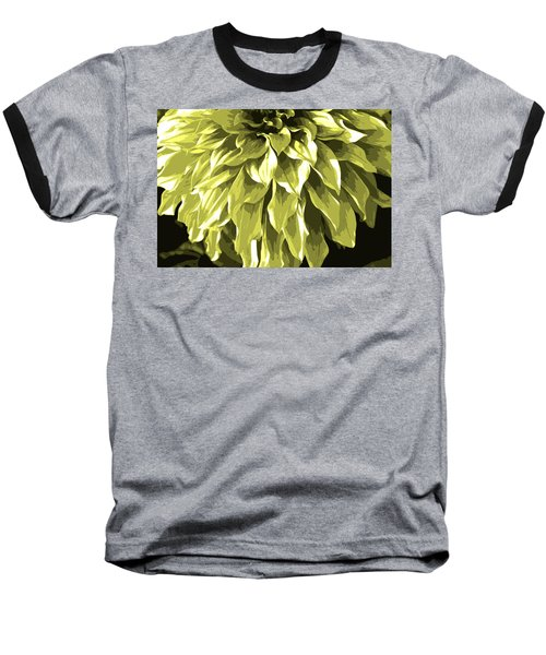 Abstract Flower 5 Baseball T-Shirt by Sumit Mehndiratta
