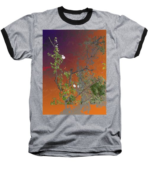 Abstract Flowers Of Light Series #13 Baseball T-Shirt