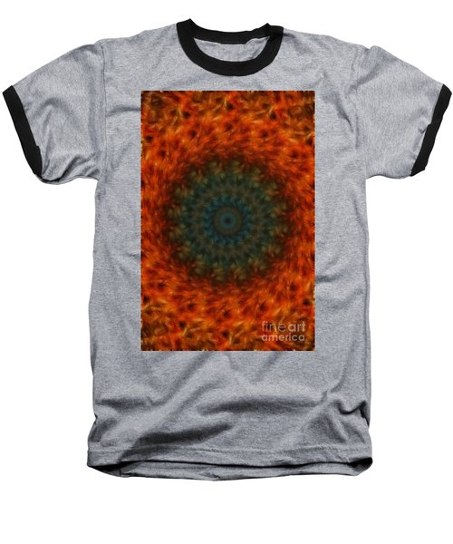 Abstract Fractal  Baseball T-Shirt
