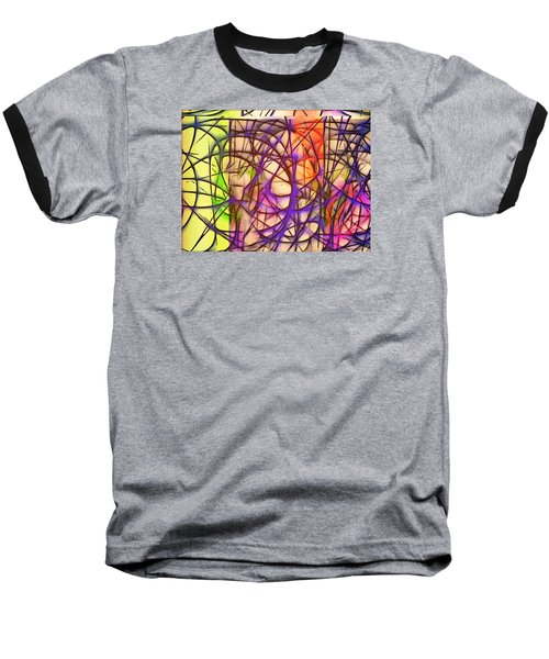 Abstract Fun 11 Baseball T-Shirt