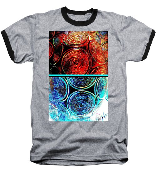 Baseball T-Shirt featuring the digital art Abstract Fusion 275 by Will Borden